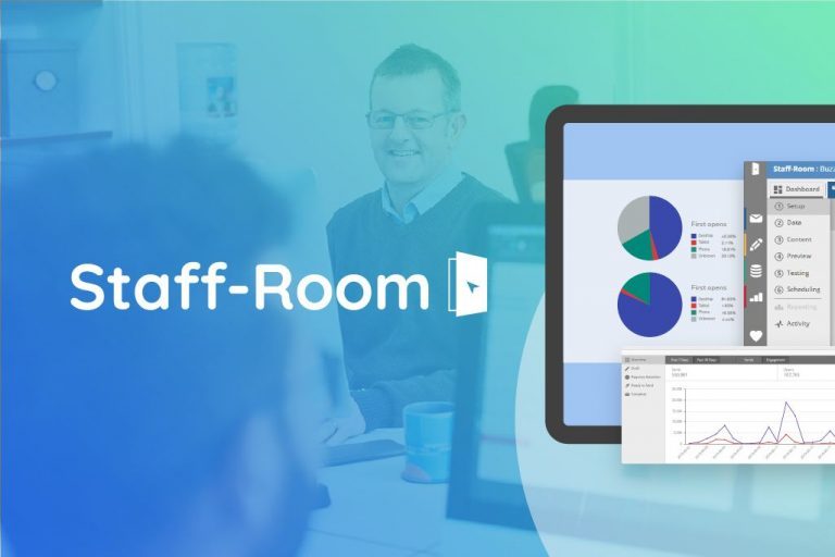 Staff-Room is packed full of features to make your marketing to schools a success.